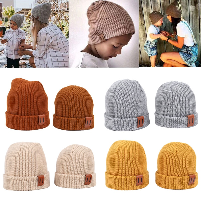 9 Colors S/L Baby Hat for Boy Warm Baby Winter Hat for Kids Beanie Knit Children Hats for Girls Boys