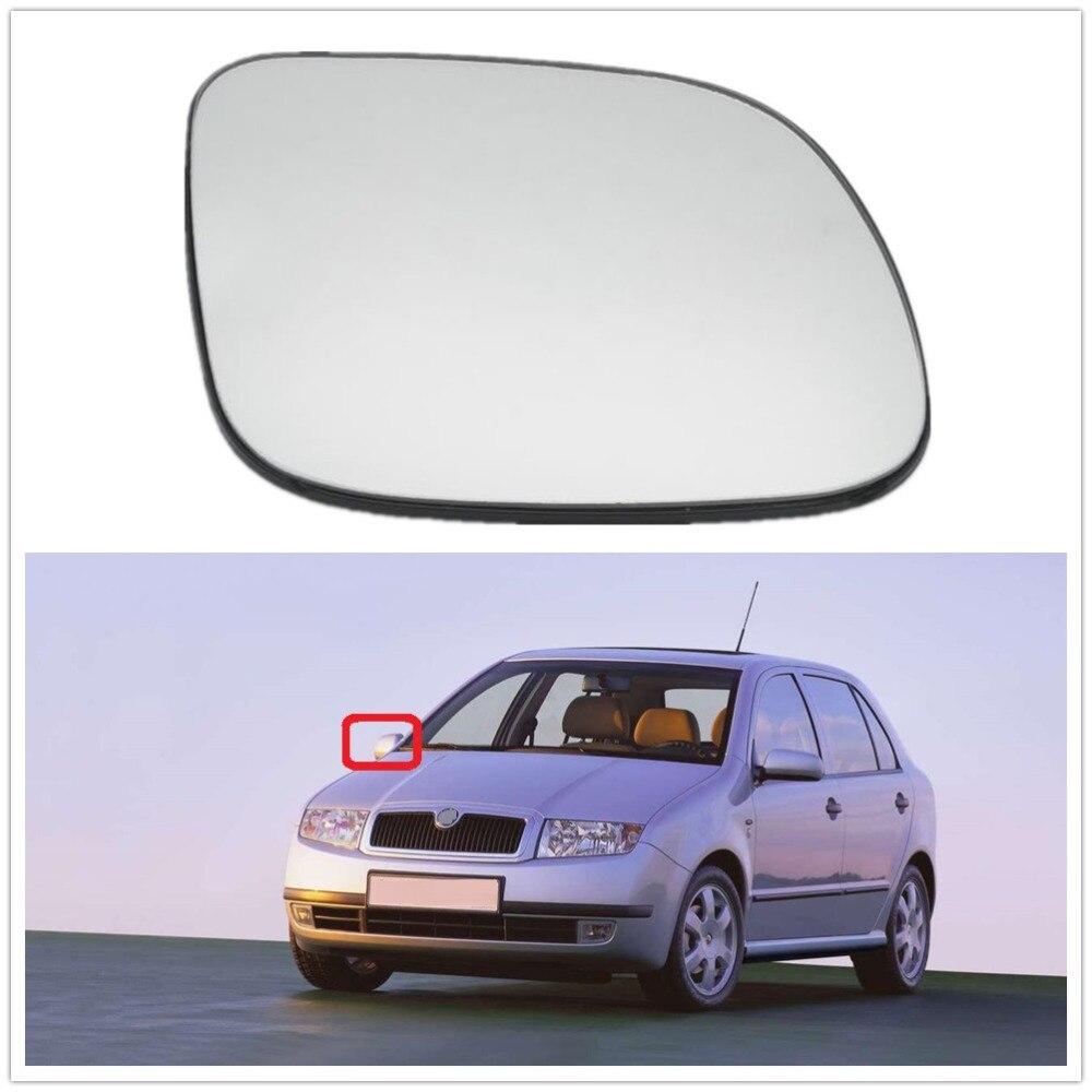 Зеркало с подогревом LHD для Skoda Fabia MK1, зеркало с правой стороны для Skoda Fabia MK1, 2006, 2000, 2001, 2002, 2003, 2004