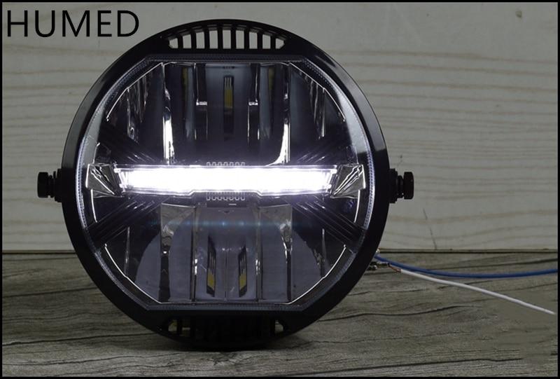 مصباح أمامي LED للدراجات النارية ، تعديل عالمي ، طراز قديم ، CR150 AC300 502