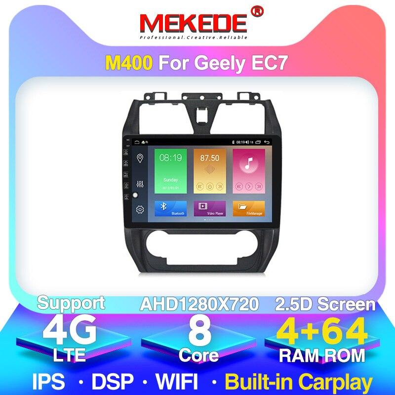 10,1 zoll 2,5 D bildschirm Auto GPS Navi Radio Android 10,0 für Geely Emgrand EC7 2012-2013 Multimedia-Player unterstützung TPMS