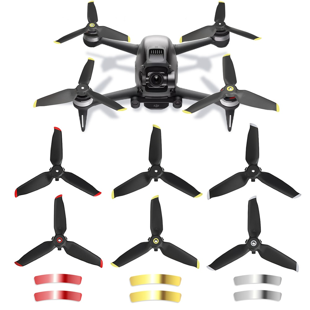 20pcs 10 pairs kingkong 5040 5x4x3 3 blade props tri props propellers fpv racer quadcopter qav x qavr dalprop dys 5040 2/4/8pcs FPV Combo Drone Three Leaves Propellers for DJI FPV Propeller Quick Release Blade Props Noise Reduction Accessoires