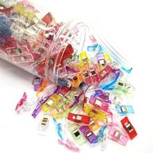 Pince à trèfle/outils de couette/accessoire de couture   Pince à Clips en plastique, pince à coudre en tissu, support de couture artisanal 120 pièces
