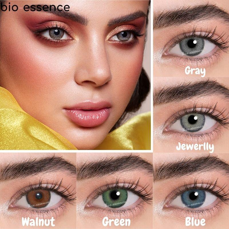 Lentillas para ojos De colores, lentes De contacto mágicos De la serie...