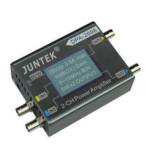 JUNTEK 10 МГц 25Vpp 2CH DC усилитель мощности, генератор сигналов функции DDS