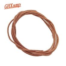 "GHXAMP-cable de cobre trenzado para altavoz, cable de plomo de 1M para 5 ""6,5"" 8 ""10"" pulgadas, reparación de Bobina de voz"