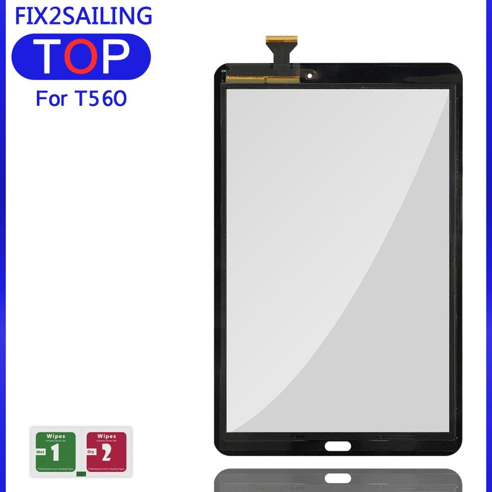 """9.6 """"nova para samsung galaxy tab e t560/t561/SM-T560/SM-T561 touch screen digitador vidro de substituição"""