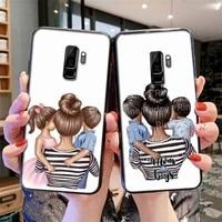 fashion super mum soft cover phone case for redmi 7 8 9 a k20 30 pro note 8 9 pro 9s