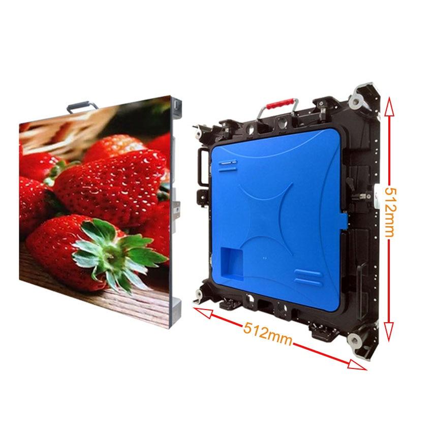 P2 صغيرة الملعب led عرض كامل اللون SMD1515 512*512 مللي متر داخلي تأجير لوحة مصفوفة 1/32 مسح الفيديو الجدار الشاشة 256*128 مللي متر وحدة