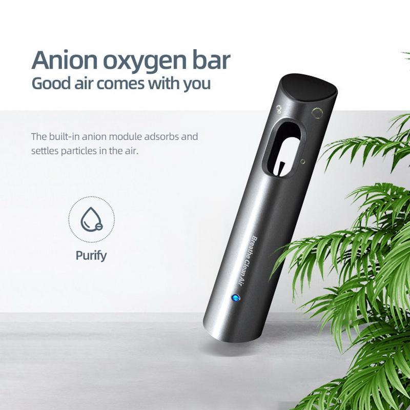 Мини USB автомобильный очиститель воздуха портативный ионизатор Отрицательные ионы автомобильный освежитель воздуха Pm2.5 активированный уг...