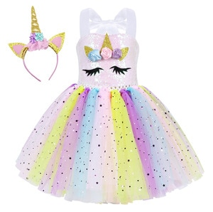 Baby Girl Halloween Christmas Party Fancy Dresses Anime Snow White Mermaid Cosplay Costumes Print Bow Removable Cloak 2-8Years