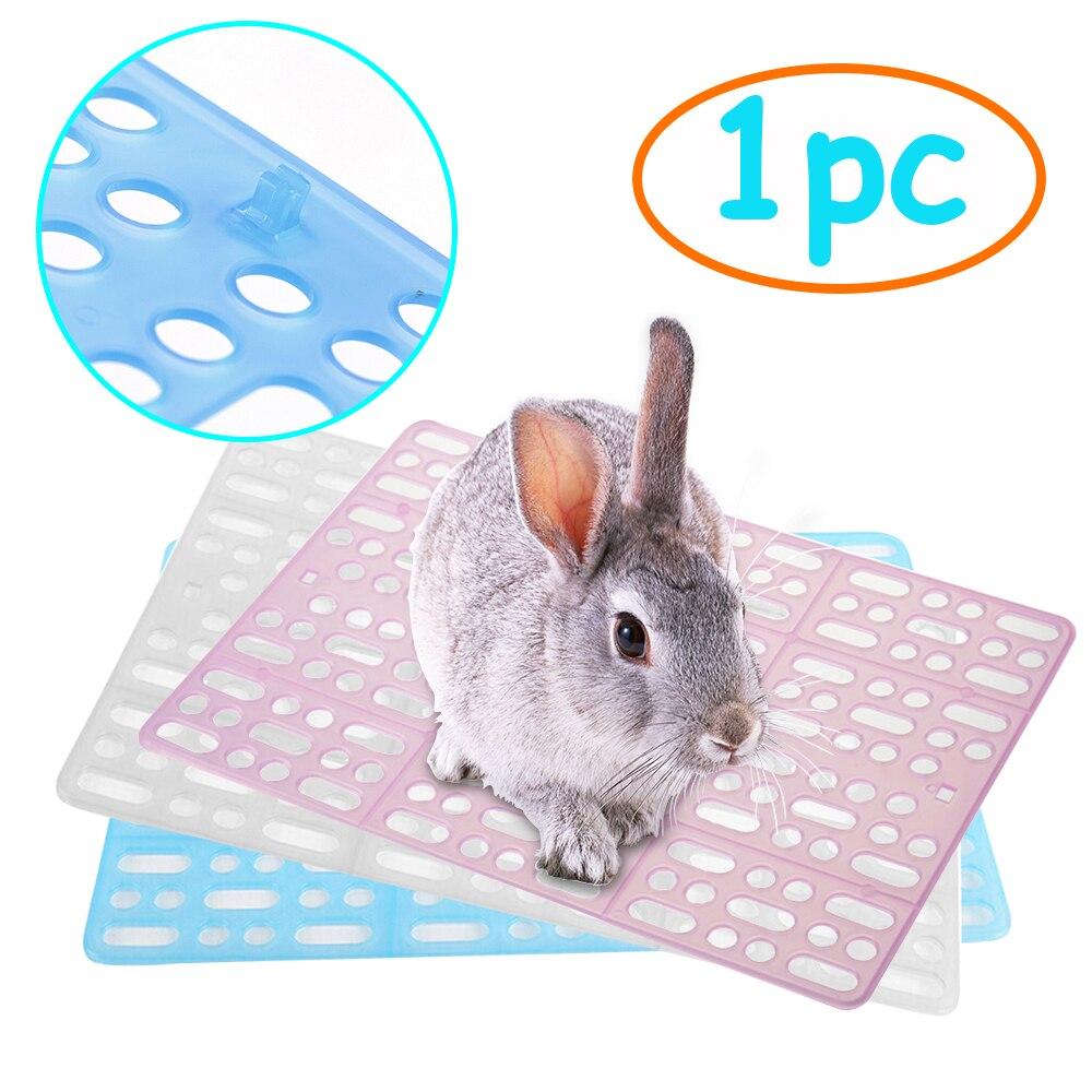 Estera de plástico para mascotas, estera de conejo, conejillo de indias, gato, ratón, mantel, cojín, jaula, Alfombra de cama