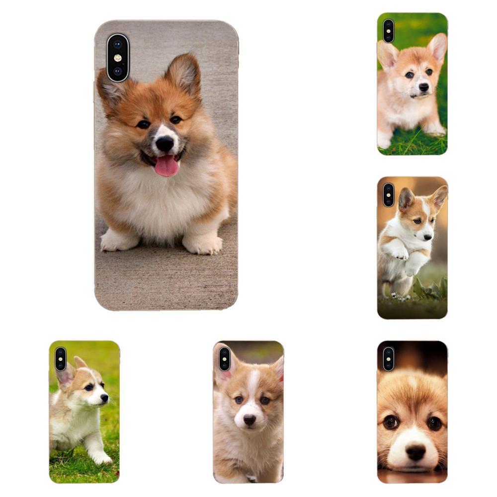 Soft Hotsales Corgi Puppy For Samsung Galaxy J1 J3 J4 J5 J6 J7 A10 A20 A20E A3 A40 A5 A50 A7 2016 2017 2018