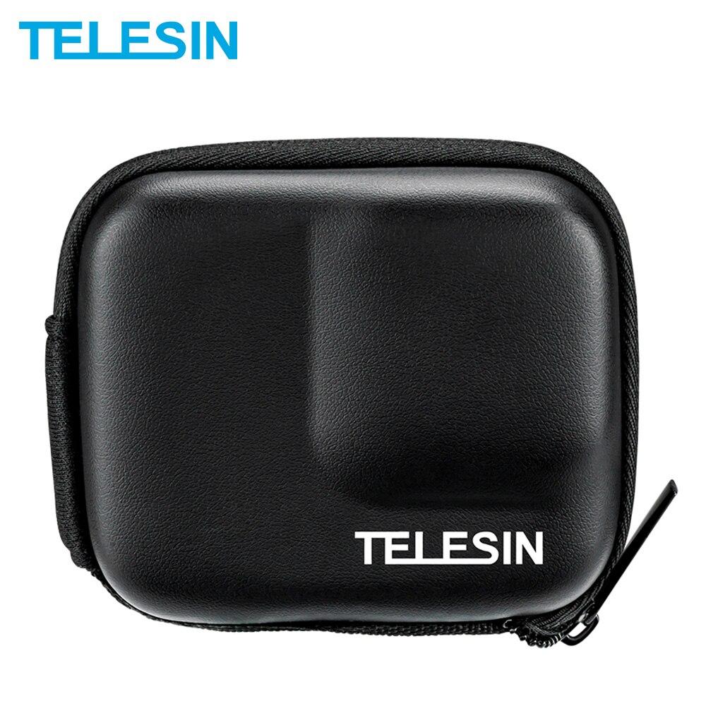 TELESIN Mini-bolsa protectora de cmara EVA Estuche de transporte porttil para Insta360...