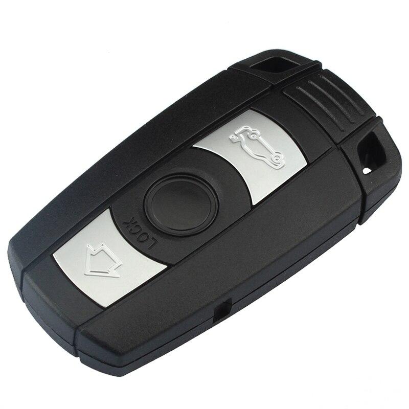 Mayitr Car Styling 3 botones control remoto carcasa + clave sin grabar para BMW 1 3 5 6 7 Series E90 E91 E93