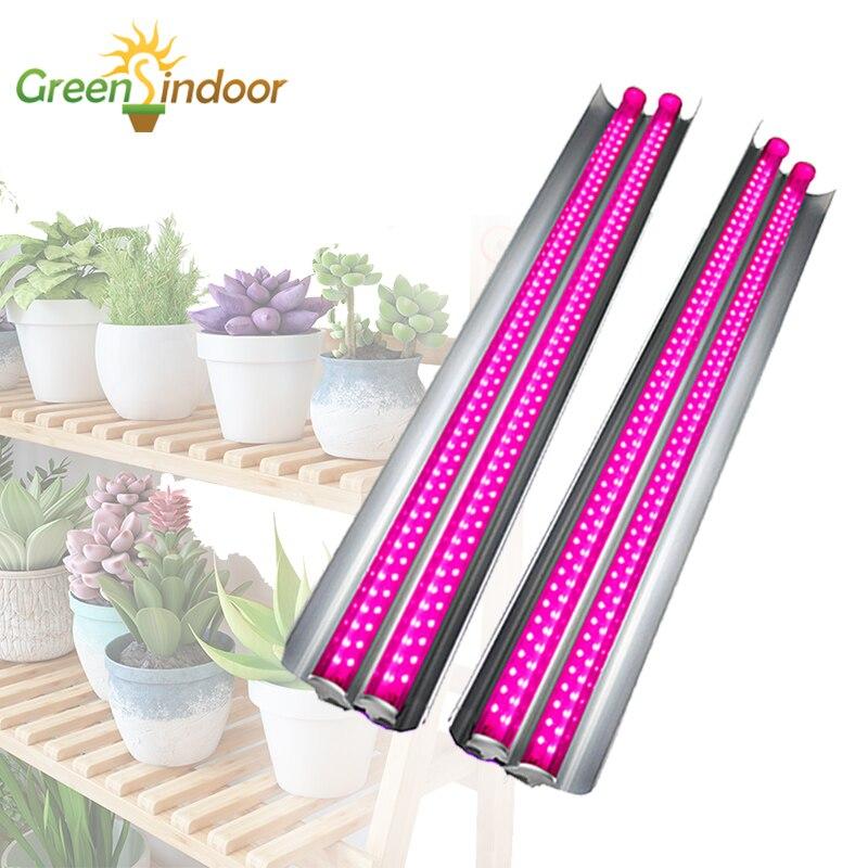 LED Grow Light Strips T5 100W Phyto Lamp Full Spectrum Lights For Flower Lamp For Plants Shelves Growing Succulent Fitolampy Led