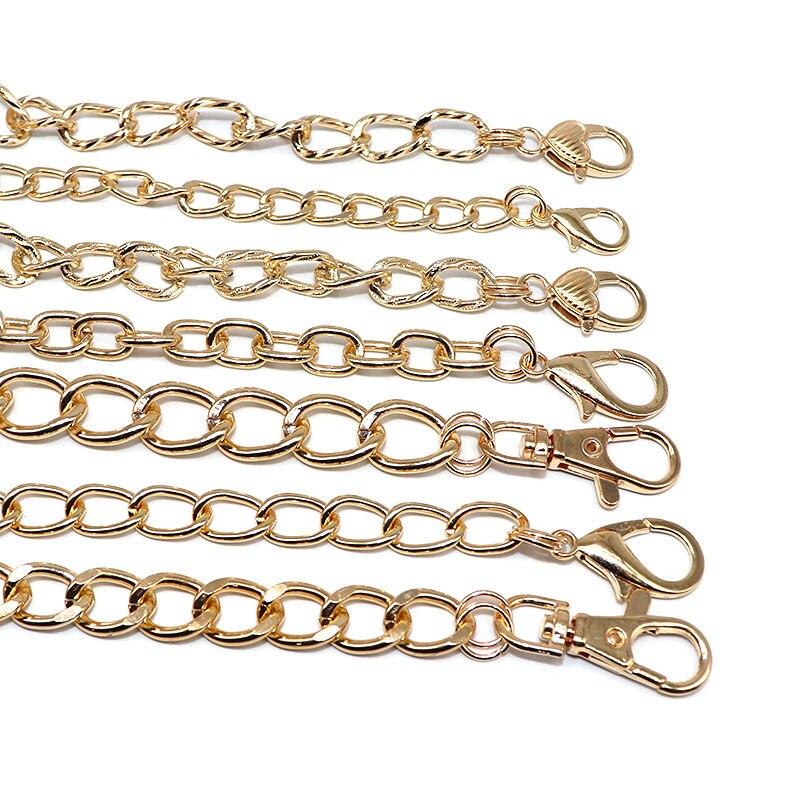 Collar con cadena y eslabones de 1,2 M de color liso, Gargantilla para hombre y mujer, accesorios para collar y cadenas, suministros hechos a mano para joyería DIY