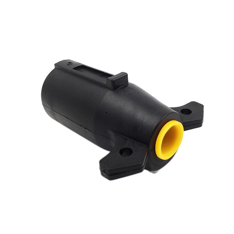 7-контактный штекер прицепа FOCAN, 7-ходовой круглый разъем лезвия, штекер RV, детали, штекер 12 В, буксировочный наконечник прицепа