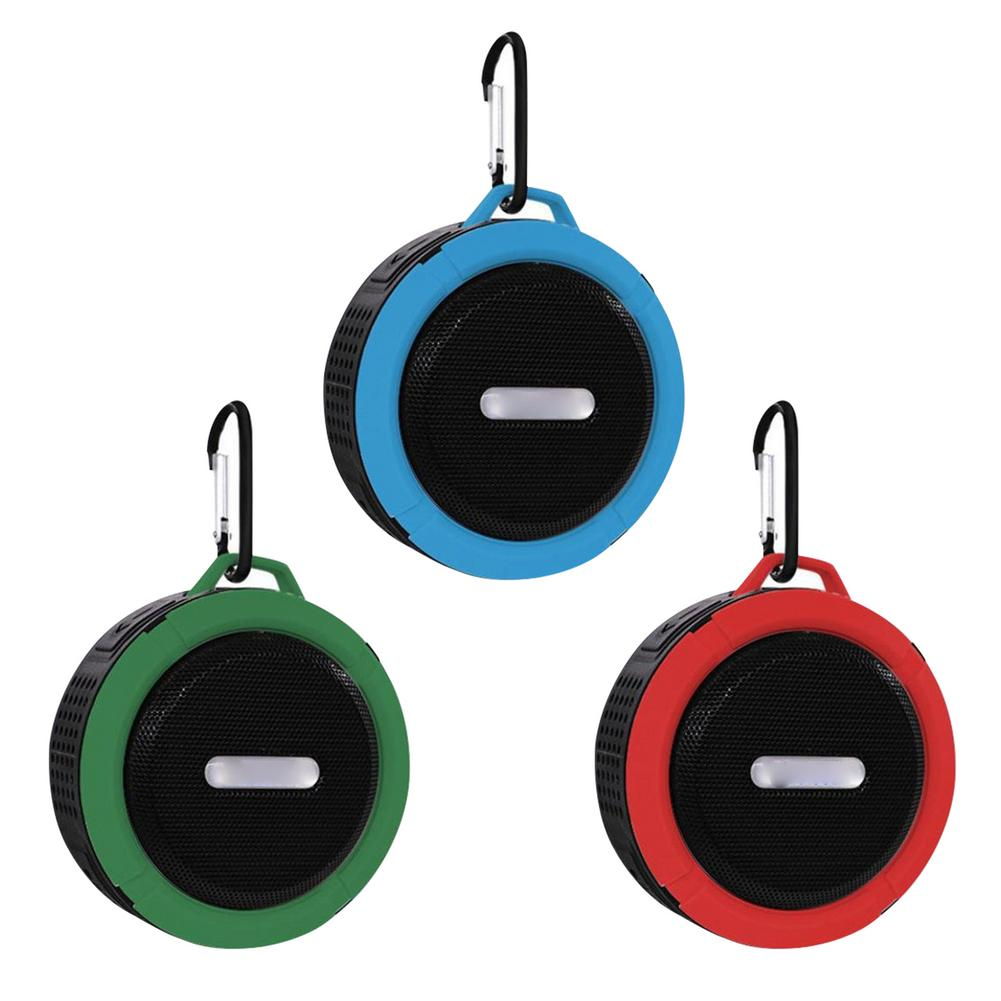 Водонепроницаемая беспроводная Портативная колонка, Беспроводная Bluetooth стерео Портативная колонка, встроенный микрофон, Противоударная к...