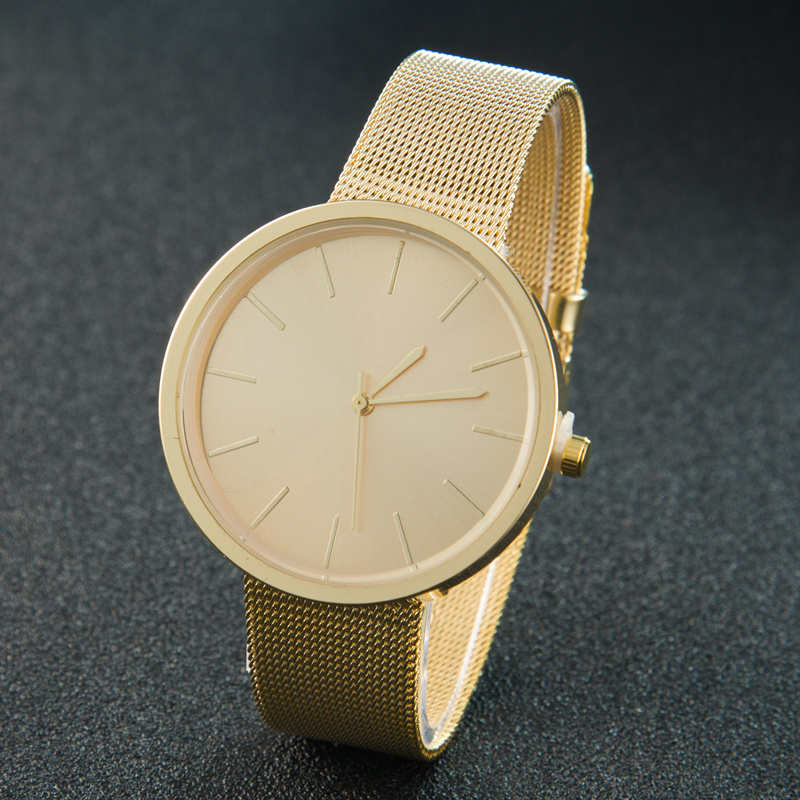 Gold Sliver Mesh Stainless Steel Watches Women Top Brand Luxury Casual Clock Ladies Wrist Watch Relo