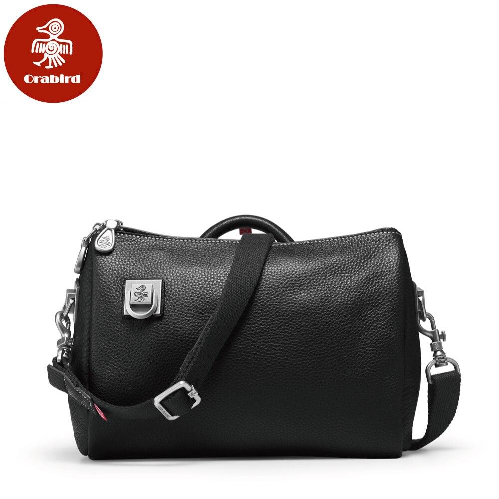 Orabird Women' s Leather Bucket Bag Large Capacity Luxury Casual Crossbody Shoulder Handbag Female Big Shopper Bags