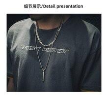 2152-Summer solid color short-sleeved t-shirt men's V-neck bottoming shirt half-sleeved summer clothes