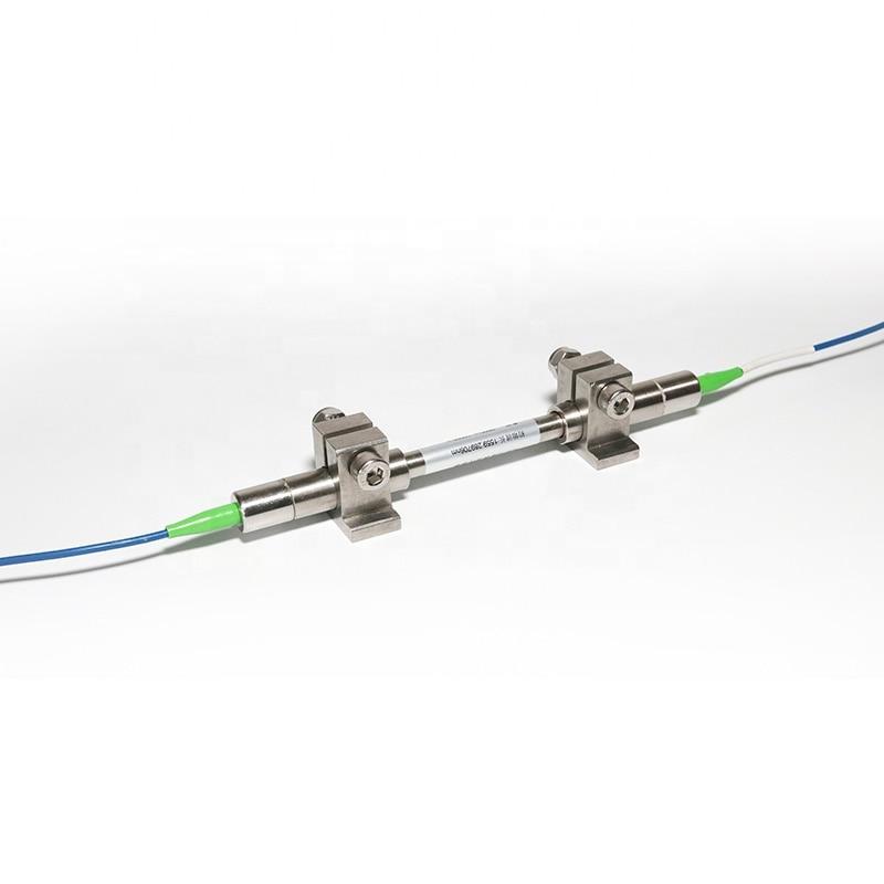 FBG Surface strain gauge, fiber bragg grating strain sensor FC/APC for Internal strain test of concrete enlarge