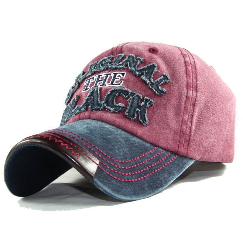 Fashion High Quality Men Washed Cotton Baseball Cap Women Vintage Snapback Hat Adjustable Trucker Dad Hat Bone Visors