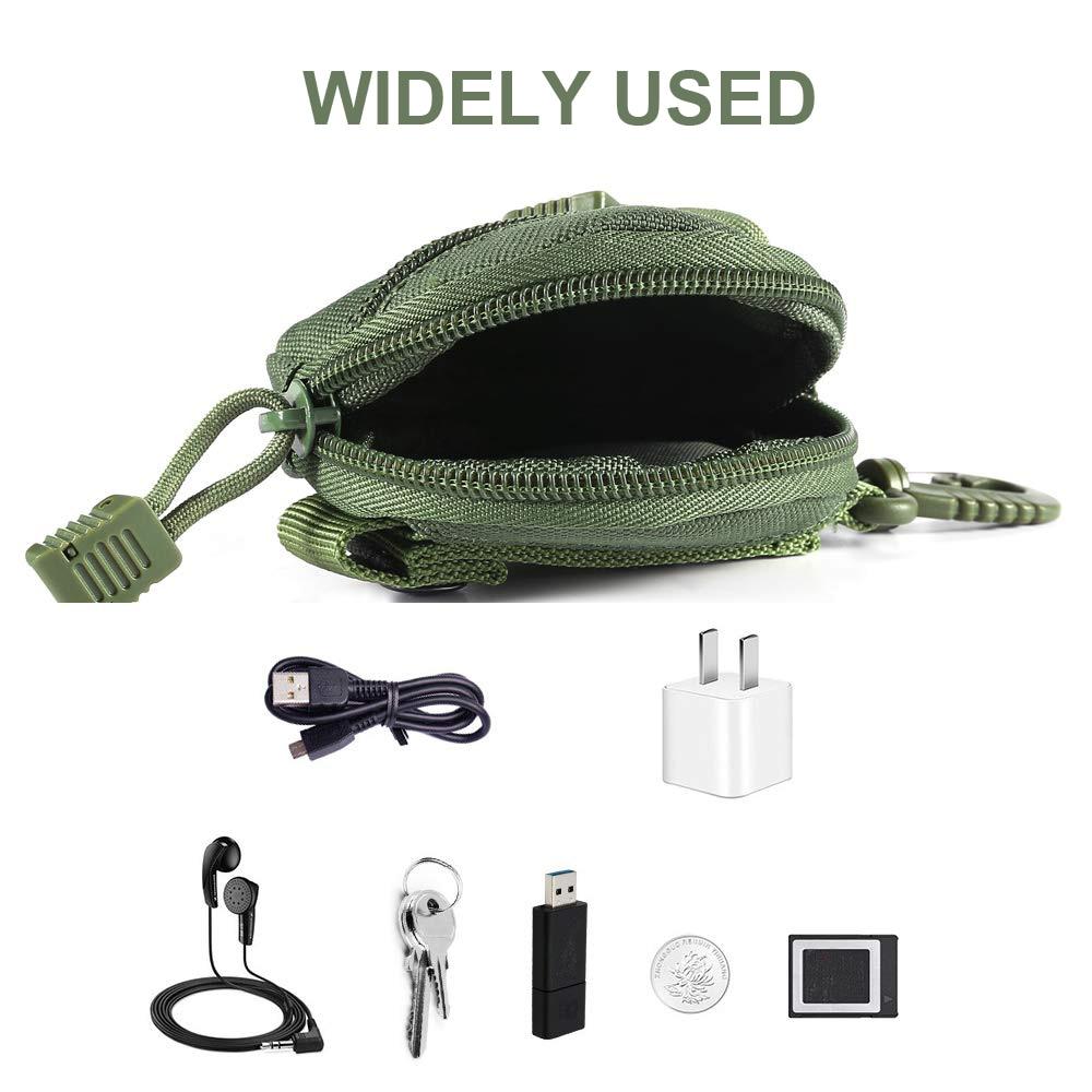 Taktis Dompet Saku 1000D Tas Aksesoris Militer Portable Mini Uang Koin Kantong Pemegang Kunci Tas Pinggang untuk Berburu Berkemah