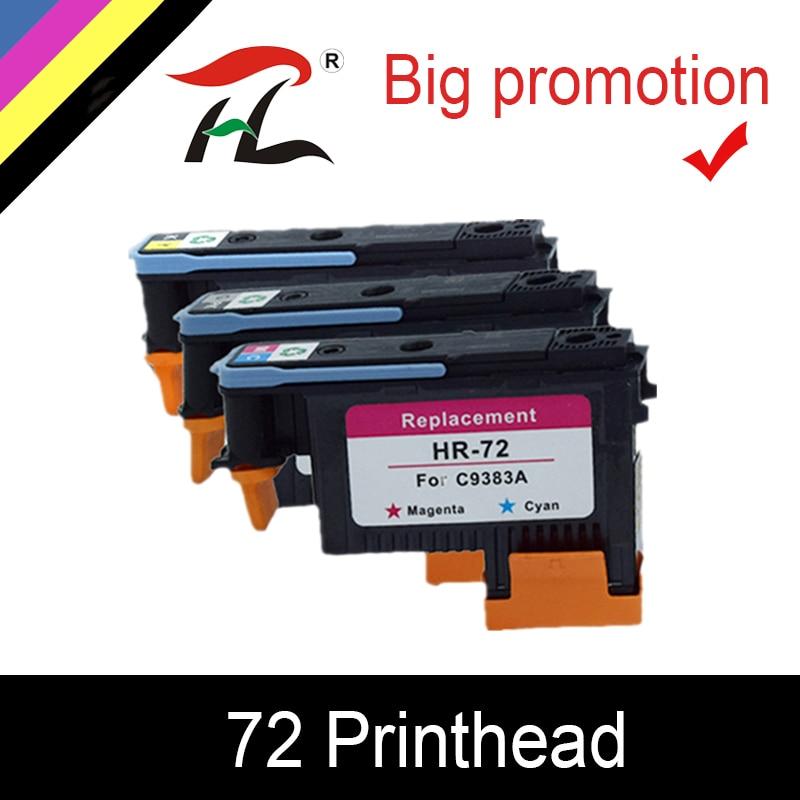 HTL C9380A C9383A C9384A Printhead Print head for HP 72 DesignJet T1100 T1120 T1120ps T1200 T1300 T1300ps T2300 T610 T770 T790