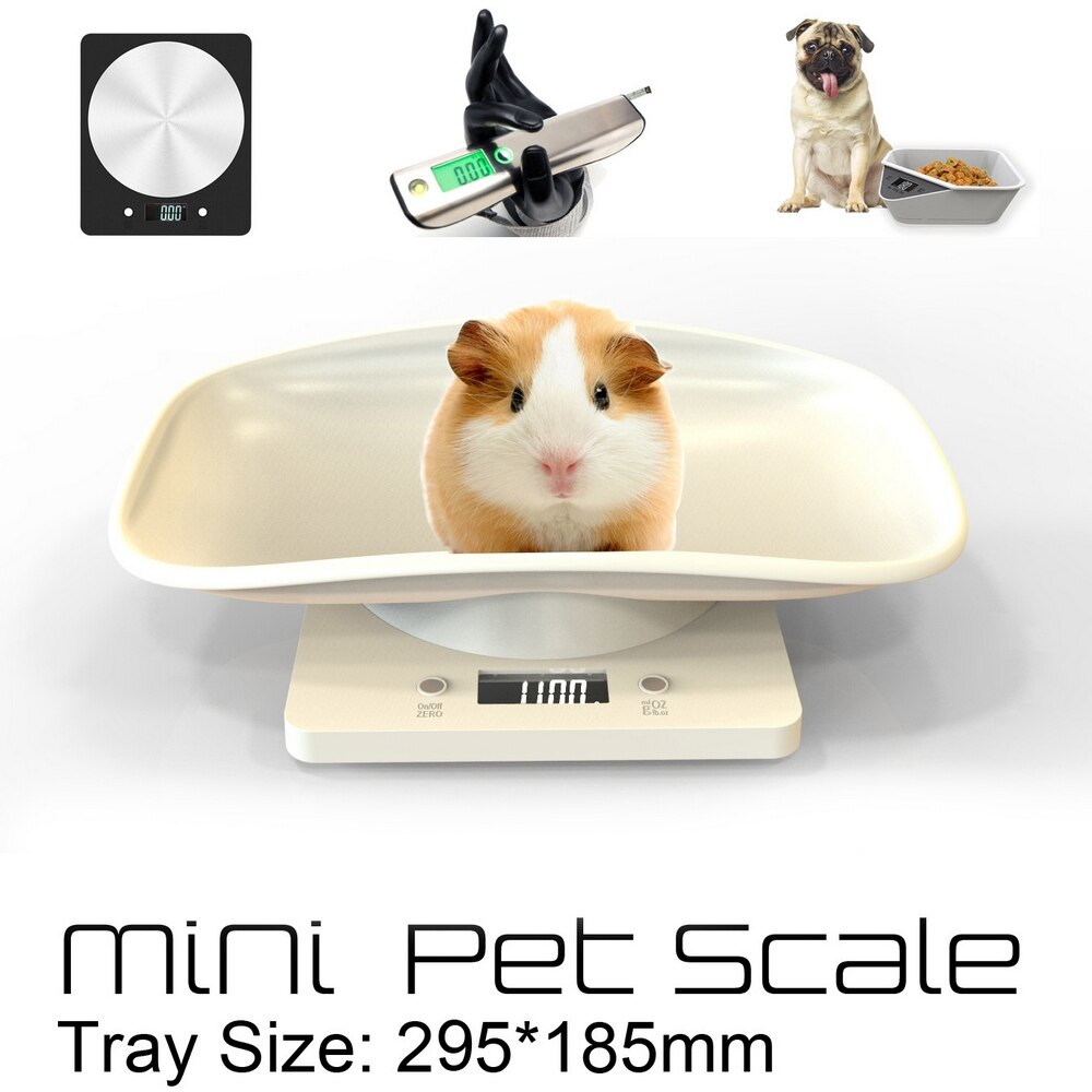 Eletrônica do Animal de Estimação do Lcd da Escala de Peso da Precisão Balança de Peso para o Filhote de Cachorro da Medida Escala Precisão Mini Gramas Alta T1g da