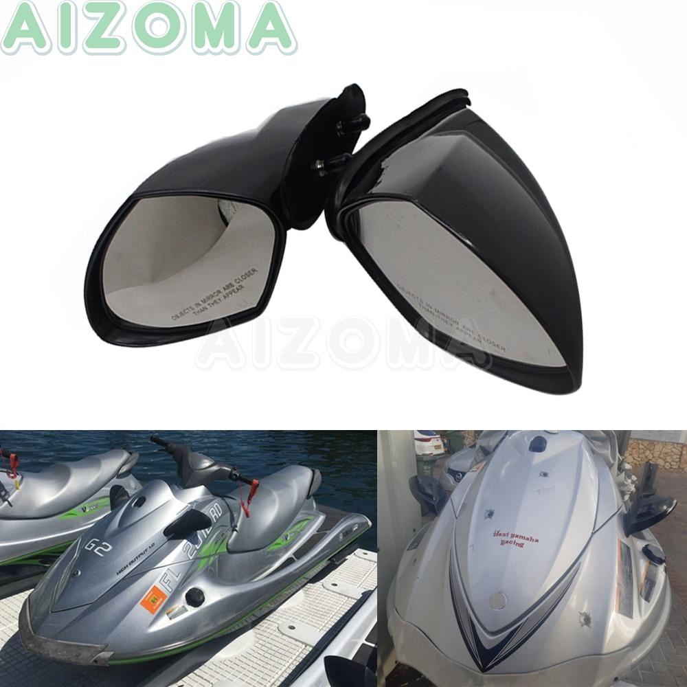 2005-2009 para Yamaha VX 110 WaveRunner VX110 Deluxe Sport Cruiser 2 uds, espejos retrovisores para yates de motor
