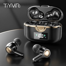 TWS Earbuds Bluetooth 5.1 Wireless Touch Headphone Bass Stereo Hifi Music Volume Control 4 Microphon