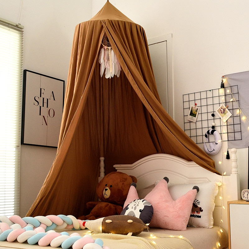 Baby Crib Bed Tent Hung Dome Mosquito Net Baby Bed Baby Girl Room Decor Kids Bed Canopy Tent