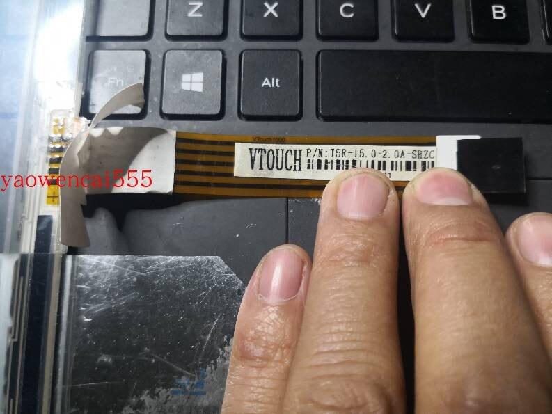 VTOUCH P/N:T5R-15.0-2.0A-SHZC اللمس شاشة