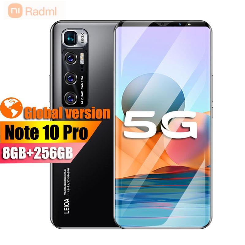 Rad-teléfono inteligente m i Note 10 Pro, 256GB + 8GB, android, 6,1...