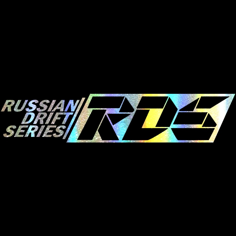 60X12.4CM stickers on car Russian drift series RDS car sticker Vinyl Funny Stickers and Decals Auto Motorcycle Car Styling 3d