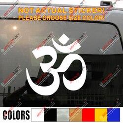Yoga om ohm decalque do carro adesivo hindu índia, escolher o tamanho e cor.