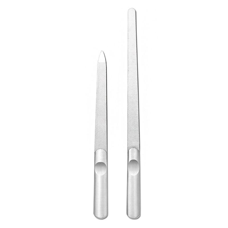 1 шт. Нержавеющаясталь файлы для ногтей cо шлифовальными буферными резцами, металлический шлифовальный Маникюр скраб для педикюра Инструменты для ногтей, для маникюра, педикюра Инструменты