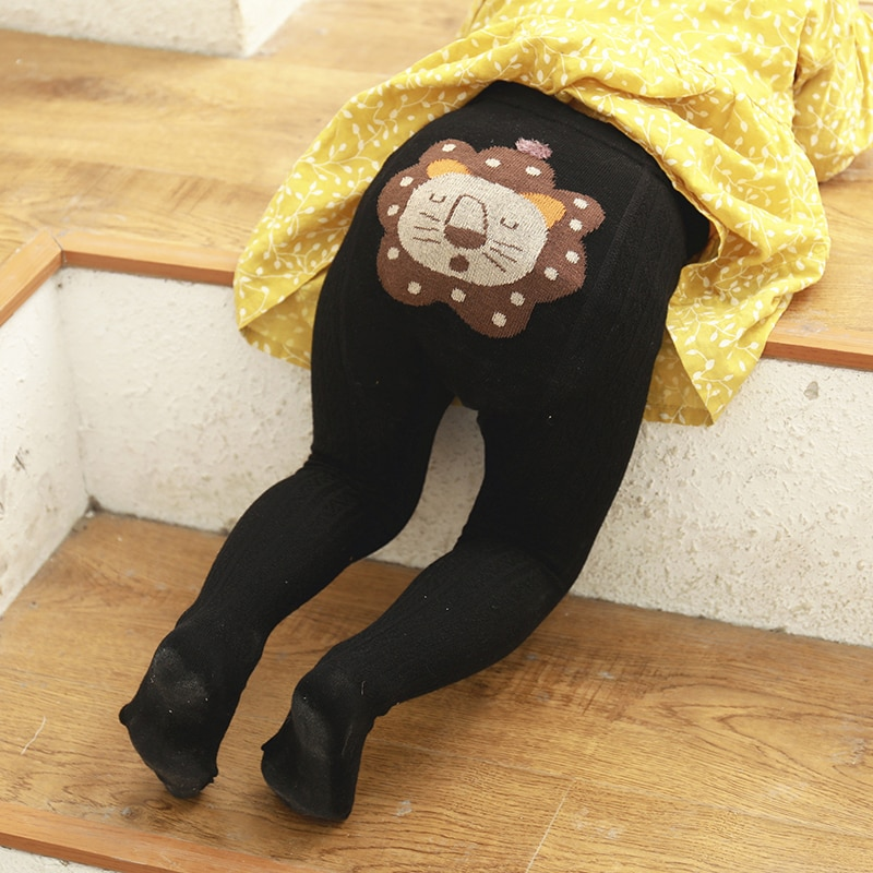 Children Baby Stockings Autumn Cute Aniaml Socks Baby Girls Tights Newborn Pantyhose Tights Kids Cotton Socks Infant Pantyhose