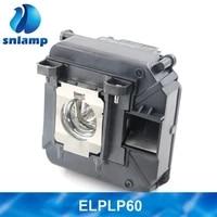 Original pour ELPLP69 V13H010L69 ampoules pour EPSON projecteurs Pro Cinema 6010 3D Powerlite Home Cinema 6010 PC6010