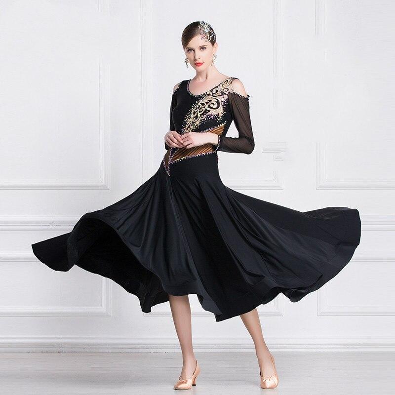 معيار وطني جديد الحديثة الرقص الملابس كبير البندول اللباس الممارسة ملابس الرقص Waltz-M18215