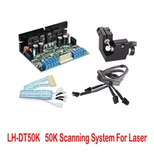 Système Laser de Scanner de Galvo de galvanomètre de vitesse de balayage élevée de 400nm-700nm DT50Kpps