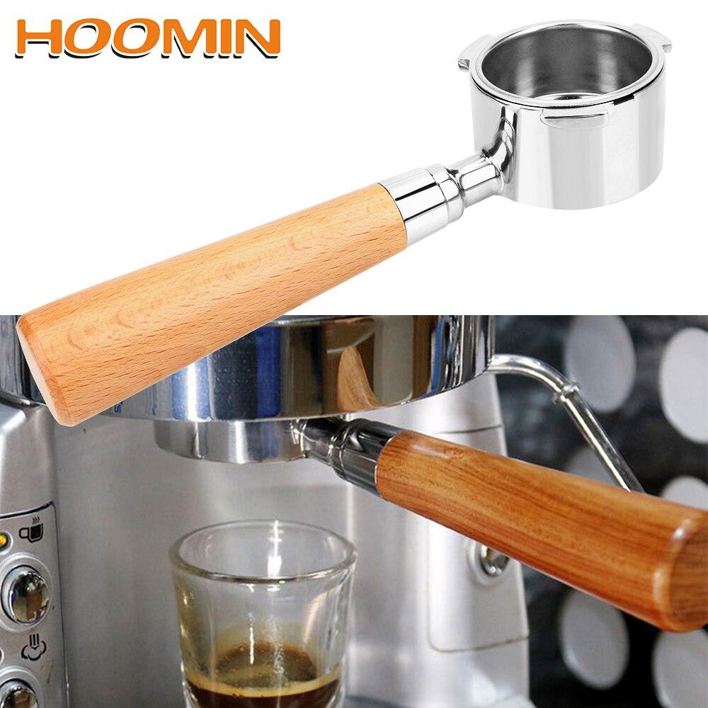 HOOMIN-فلتر بديل لآلة الإسبريسو ، مرشح 51 مللي متر لـ Delonghi EC680/EC685 ، سلة فلتر القهوة بدون قاع