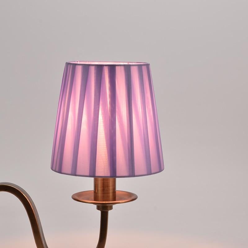 criativo lustre lampada sombra de mesa lustre lampada parede capa para candelabros