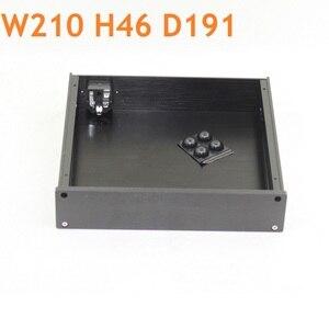 Блок питания усилителя Chasis DAC AMP чехол оболочка для наушников домашняя аудиосвязь DIY наборы боковая панель U Profile W210 H46 D191