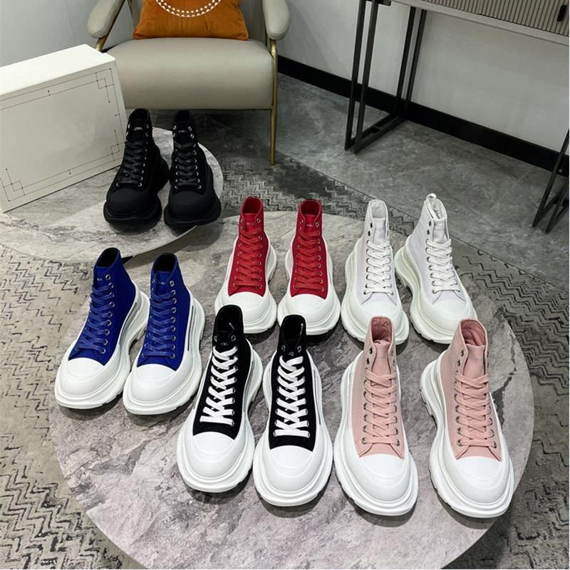 مصمم قماش حذاء فاخر مسطح عالية أعلى منصة مكتنزة أحذية رياضية كاجوال الدانتيل يصل متعدد الألوان فلكنيز أحذية Mujer الفاخرة جديد