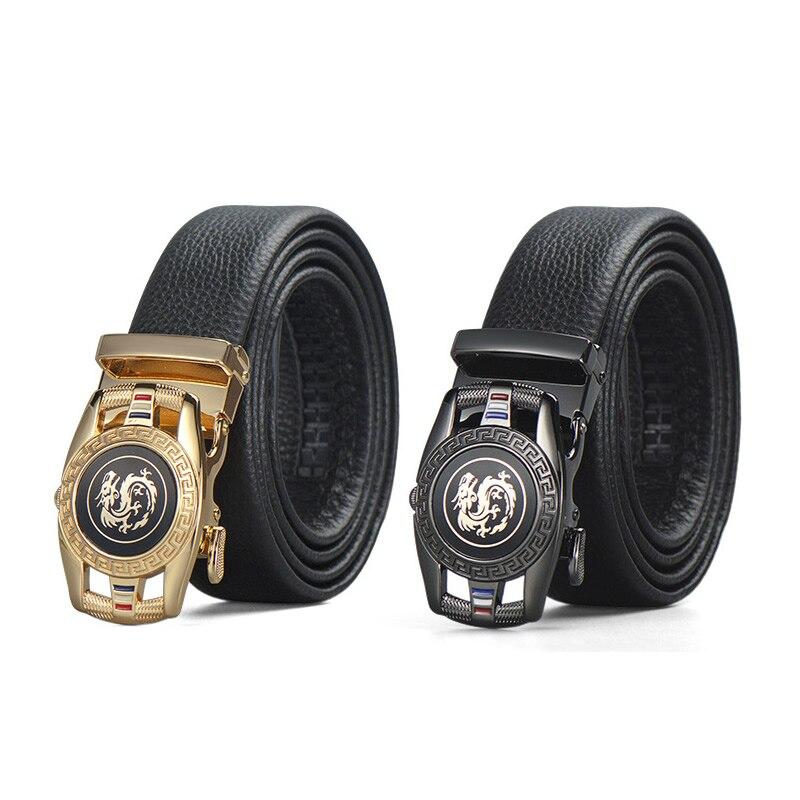 2021 New Luxury Men's Business Leather Belt Designer Men's Belt Gift Box Set