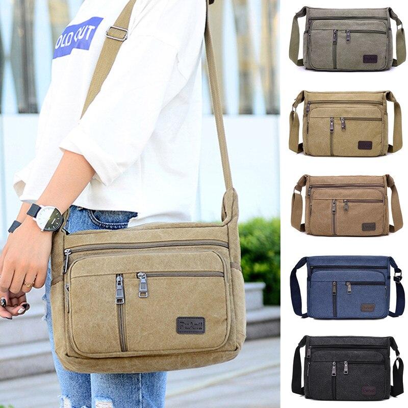 AliExpress - Outdoor Leisure Retro Business Bag High Capacity Canvas Bag Simple Version Shoulder bag Diagonal Package bag For Men Men's Big