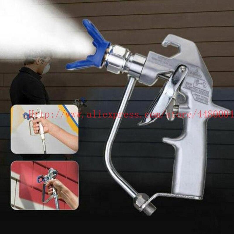 G6B-مسدس رش بدون هواء ، مسدس رش عالي الجودة مع ملحقات رش