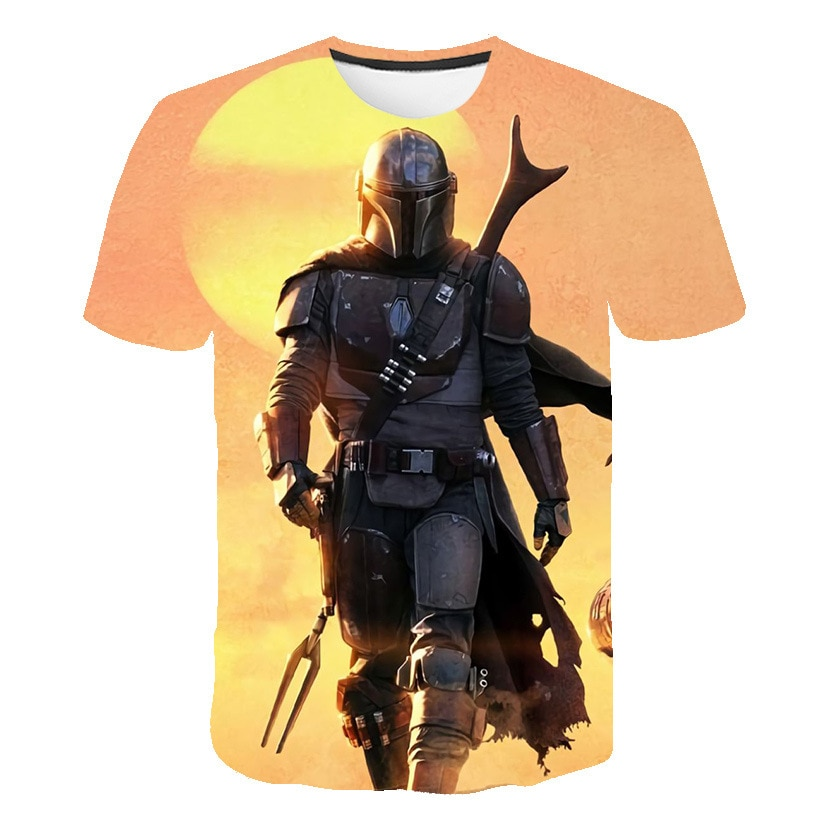 "La última camiseta de manga corta estampada en 3D de ""StarCraft"", camiseta informal suelta para hombre, camiseta explosiva de cuello redondo, camiseta de manga corta me"
